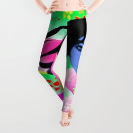 Psychedelic Journey through colors Leggings