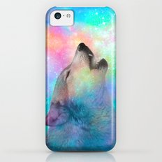 Breathing Dreams Like Air (Wolf Howl Abstract) iPhone 5c Slim Case