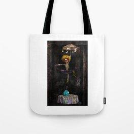 Dancing Clown On Earth Tote Bag