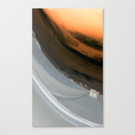 Distorted View Canvas Print