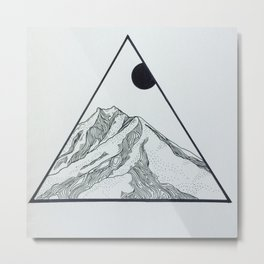 Mount Tamalpias Metal Print