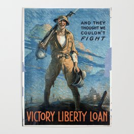 And they thought we couldn't fight Poster