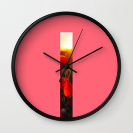 Litlle Rose Wall Clock