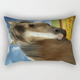 Sooty Palomino Rectangular Pillow