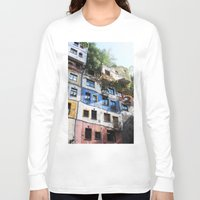 vienna Long Sleeve T-shirts featuring  Austria Vienna  Travel Photography Fine Art Feature Sale Calender 2014 Iphone by josephinemok