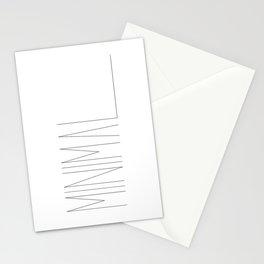 Minimal Typo #society6 #decor #buyart Stationery Cards