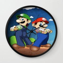 The Mario Bros Wall Clock