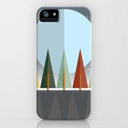 Fall Night iPhone Case