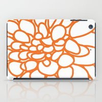 dahlia iPad Cases featuring Dahlia by AleDan