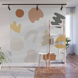 Abstract Shape Series - Autumn Color Study Wall Mural