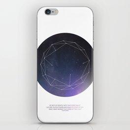 Light (Constellation) iPhone Skin