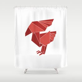 """Collection """"Origami"""" impression """"Phoenix"""" Shower Curtain"""