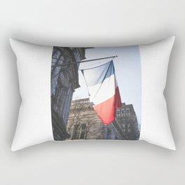 French Flag Rectangular Pillow