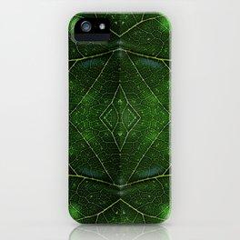 Tree Leaf - 001 iPhone Case