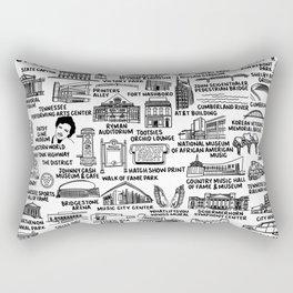 Nashville Tennessee Rectangular Pillow