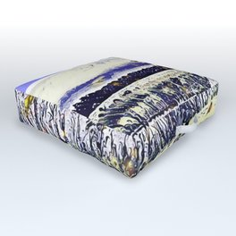 The Countryside In New York Outdoor Floor Cushion