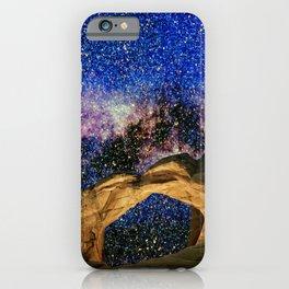 Broken Arch Night Sky Design iPhone Case