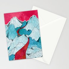 Red River In The Mountains Stationery Cards