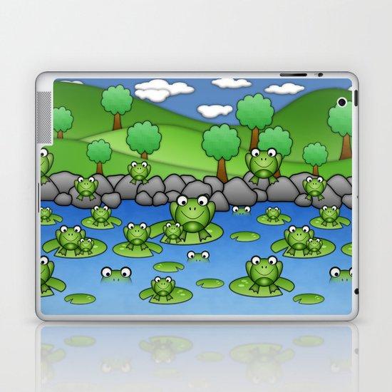 Froggies!  Laptop & iPad Skin