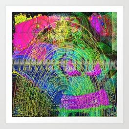 Plan of Universal Causes Art Print