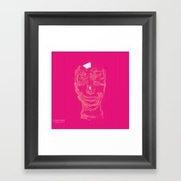 blurry mind Framed Art Print