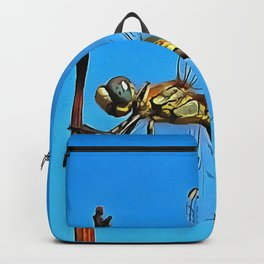 Hang On In There Artistic Dragonfly Backpack