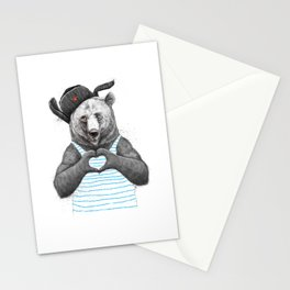from russia with love Stationery Cards