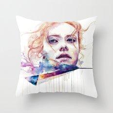conspiracy of silence Throw Pillow