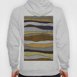 Nordic Layers - Abstract, Textured Art Hoody