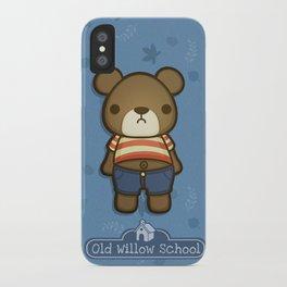 Artie the Grumpy Bear iPhone Case