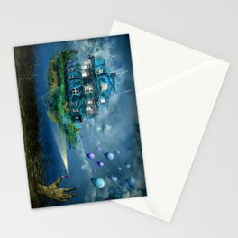 A journey with the wind Stationery Cards
