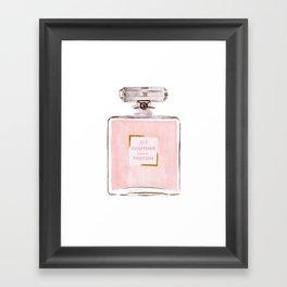 Pink Parfum Framed Art Print