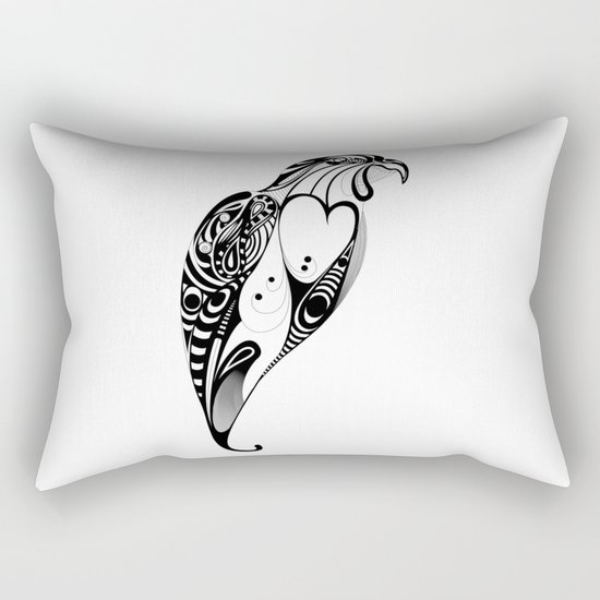 bird Rectangular Pillow