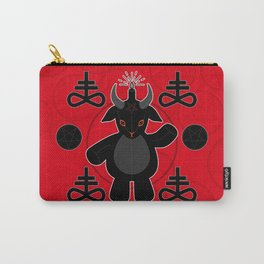Baphomet Teddy Carry-All Pouch