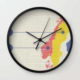 The Scando Wall Clock