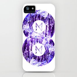 Vinyl abstract iPhone Case