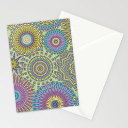 Kaleidoscopic-Jardin colorway Stationery Cards
