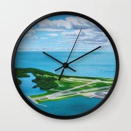 The Island Wall Clock