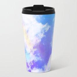 Rainbow Clouds Travel Mug