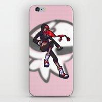 gurren lagann iPhone & iPod Skins featuring gurren lagann - yoko by gutter