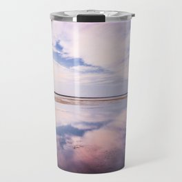 Blue sky Travel Mug