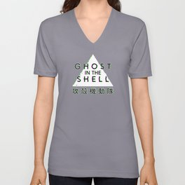Ghost In The Shell Glitch Unisex V-Neck