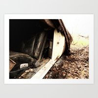 The Interior Is In Great Shape Art Print