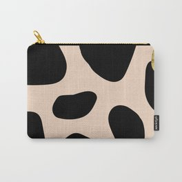 Golden exotics - Cow and soft tangerine Carry-All Pouch