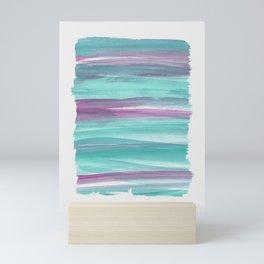 Mermaid Abstract Minimalism #1 #minimal #ink #decor #art #society6 Mini Art Print