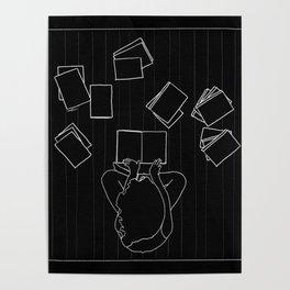 Avid book lover Poster