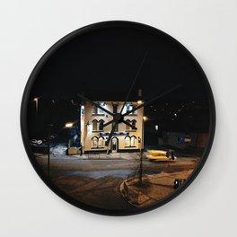 Derby local motel Wall Clock