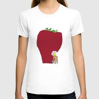 strawberry T-shirts featuring strawberry by Madmi