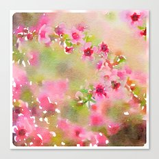 Pretty and Pink Canvas Print
