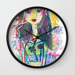 You are A Child of the Univerese, No Less than the Trees and the Stars Wall Clock